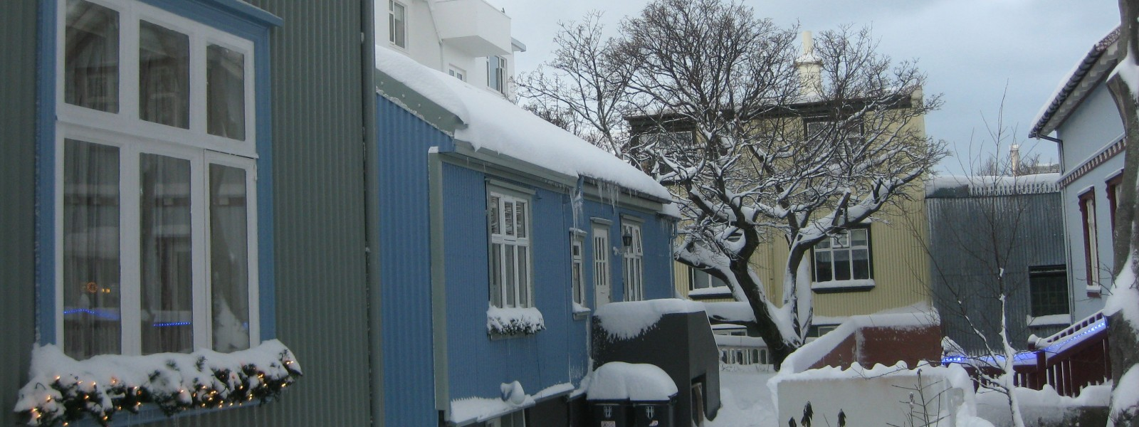 Winter is here in Reykjavik